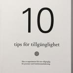 Bok: 10 tips för tillgänglighet